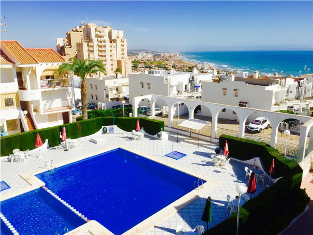 Apartment With Sea Views And Pool By La Mata Beach