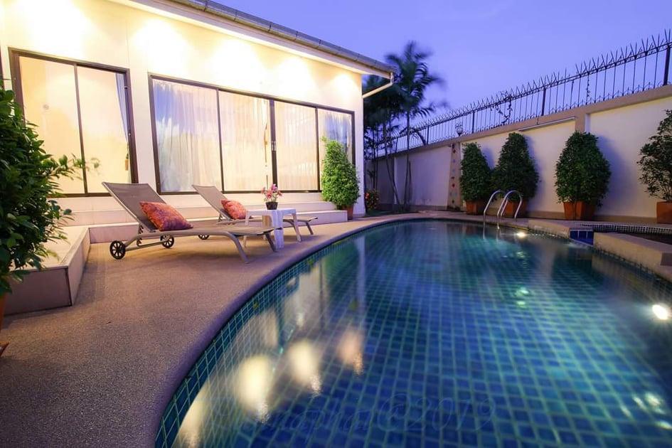 Adare Garden 5 bedroom Pool Villas  Pattaya วิลลา 5 ห้องนอน 4 ห้องน้ำส่วนตัว ขนาด 250 ตร.ม. – หาดจอมเทียน