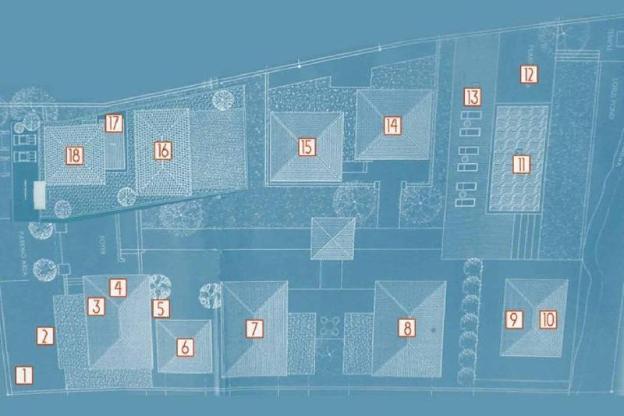 7bed deluxe pool villa set in 2000sq.m2 in Canggu
