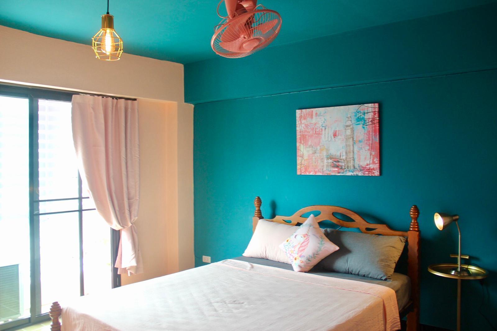 Miss time pink house大床房 อพาร์ตเมนต์ 1 ห้องนอน 1 ห้องน้ำส่วนตัว ขนาด 20 ตร.ม. – สุเทพ