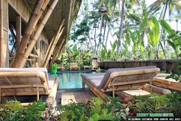 Bamboo Hotel Ubud, 1BR rice fields view