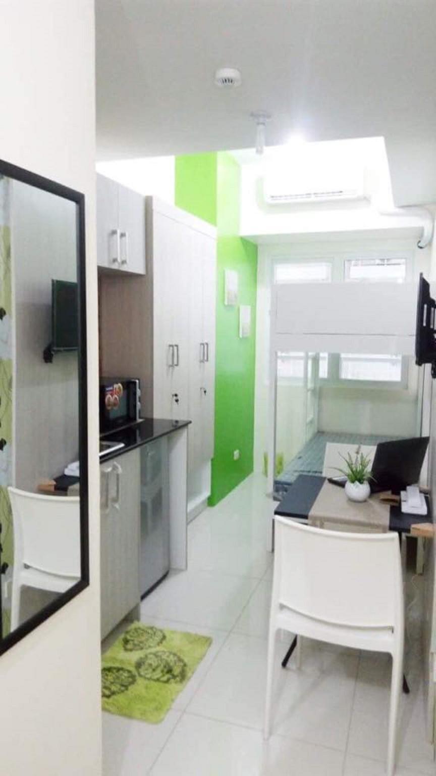 Green Residences Studio in Metro Manila W/Netflix