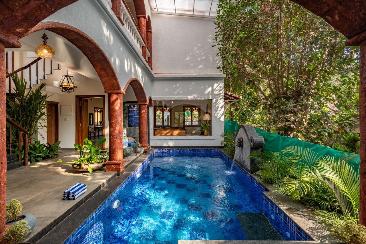 7BR Luxury Villa W  Private Pool Nr Vagator Beach