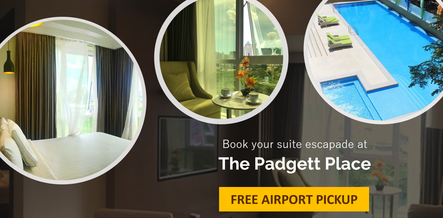 The Padgett   2 Bedroom Corner Suite Nr Ayala Mall