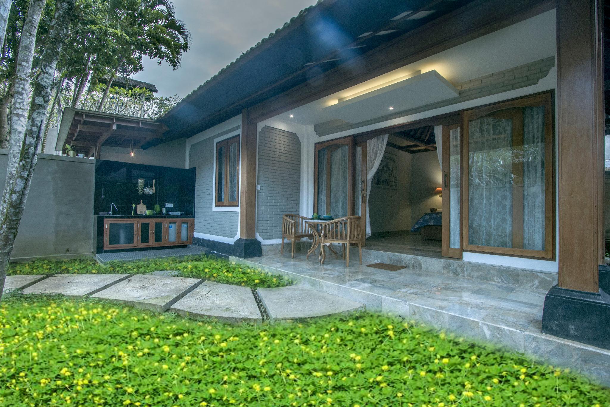 Villa 5 1BR Fancy Villa With Public Pool At Ubud