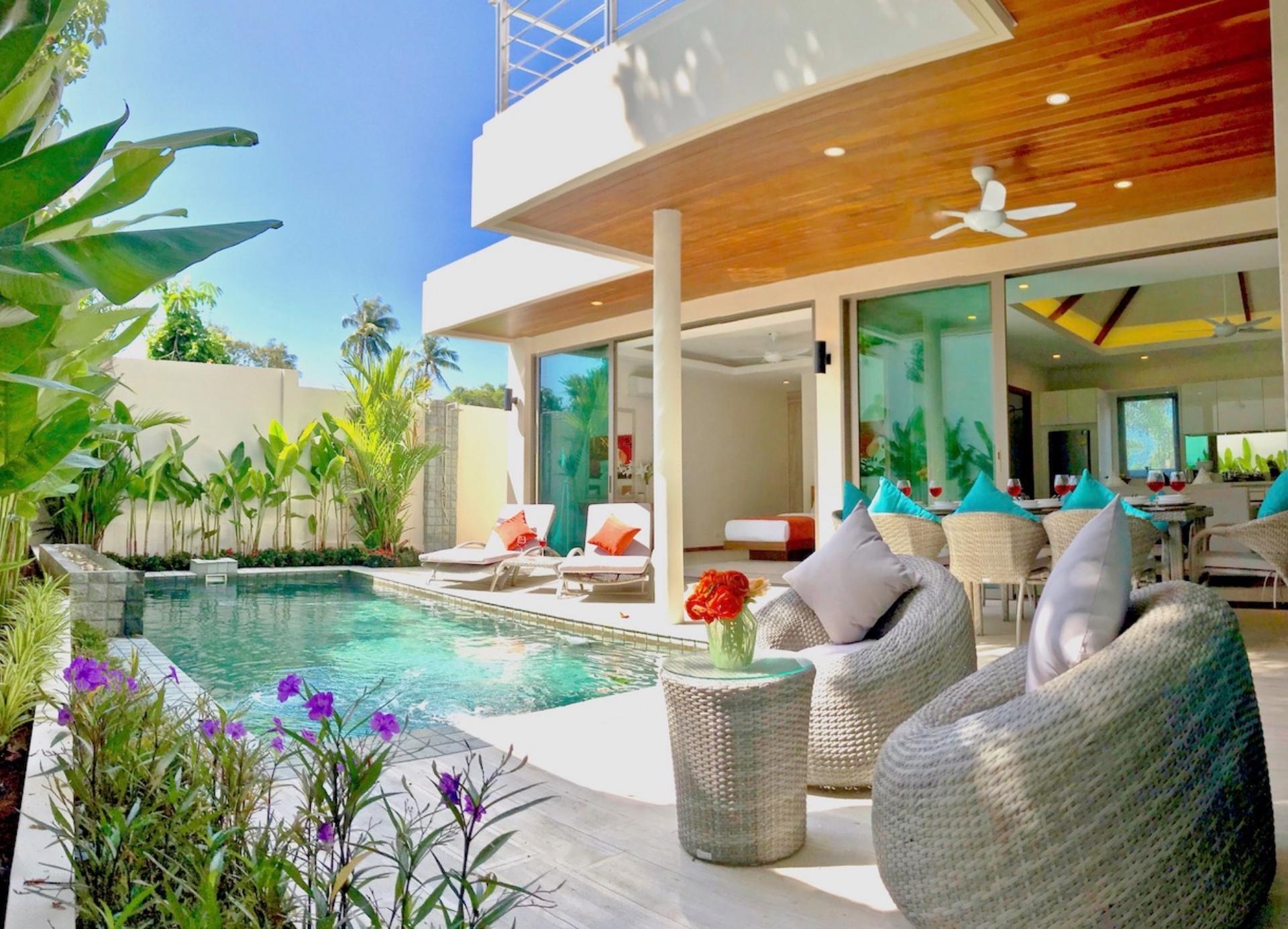 Blissful Pool Villa, Well Located in Rawai วิลลา 4 ห้องนอน 4 ห้องน้ำส่วนตัว ขนาด 252 ตร.ม. – หาดราไวย์
