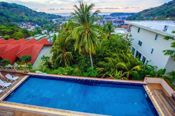 3-level  Apartment with view of the sea. Phuket
