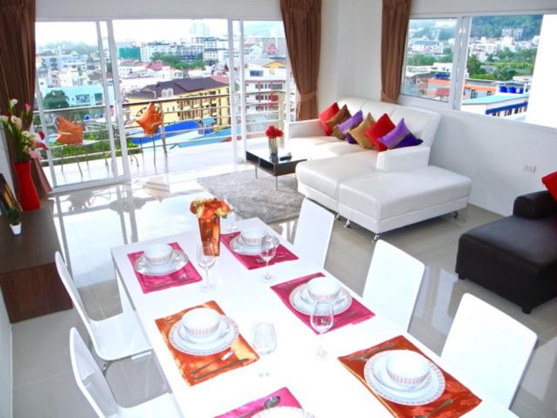 New Sea Views apartment in Patong อพาร์ตเมนต์ 2 ห้องนอน 1 ห้องน้ำส่วนตัว ขนาด 127 ตร.ม. – ป่าตอง