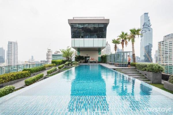 Heart of Sathorn/Skytrain with Amazing Sky Pool Bangkok