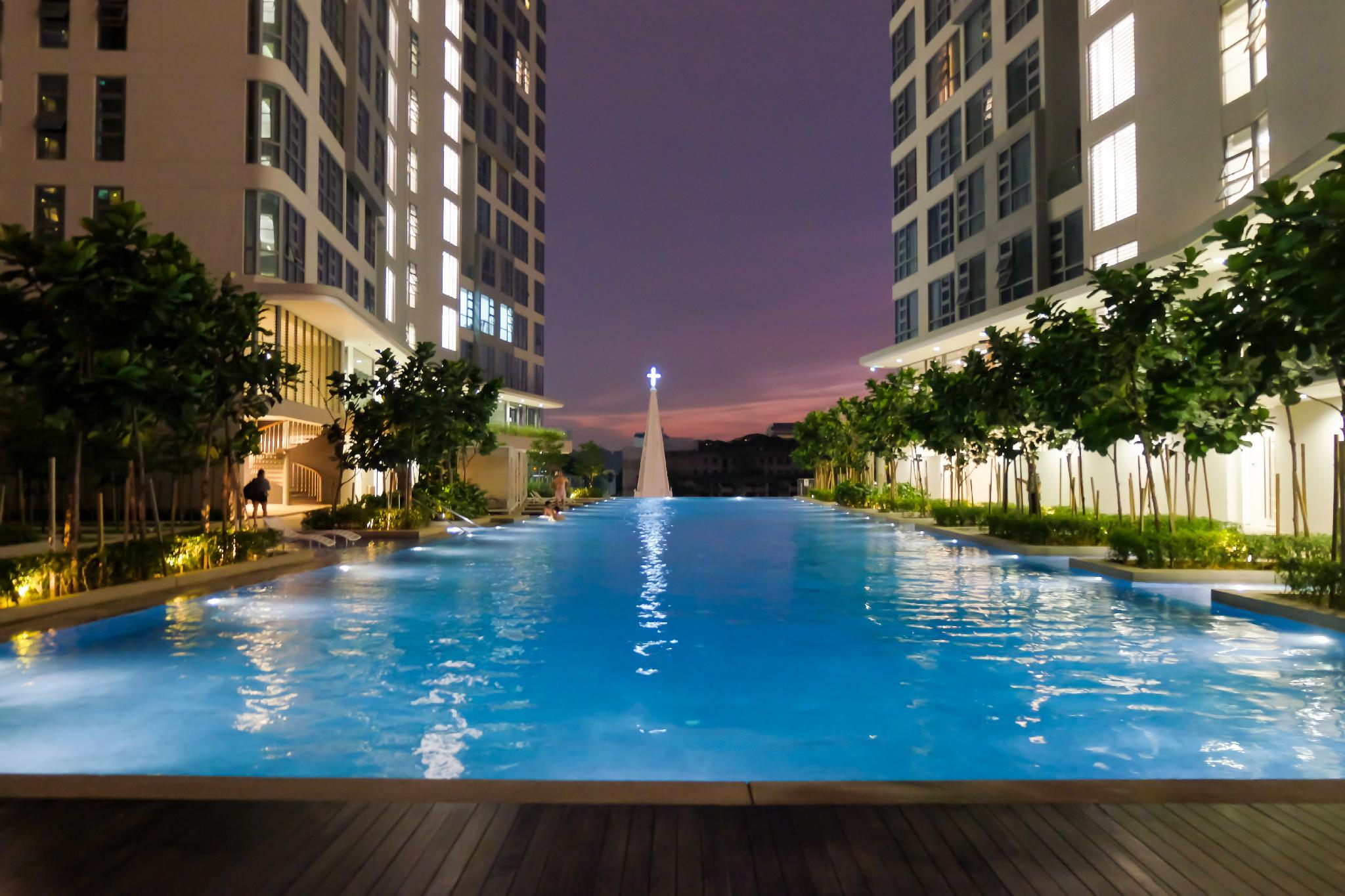 Cozy Apartment With Swimming Pool Near KLCC Area