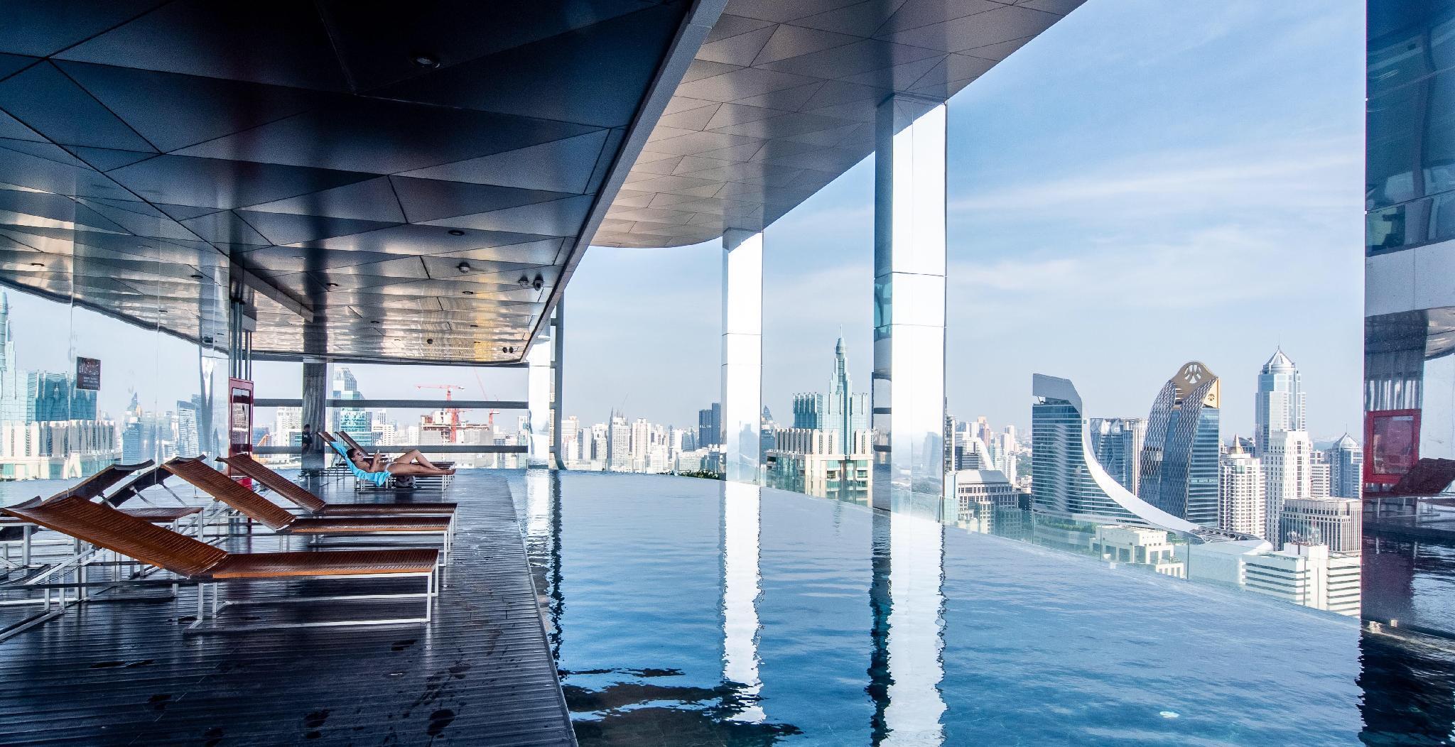 360 degree infinity pool in the city centre อพาร์ตเมนต์ 2 ห้องนอน 2 ห้องน้ำส่วนตัว ขนาด 73 ตร.ม. – สยาม
