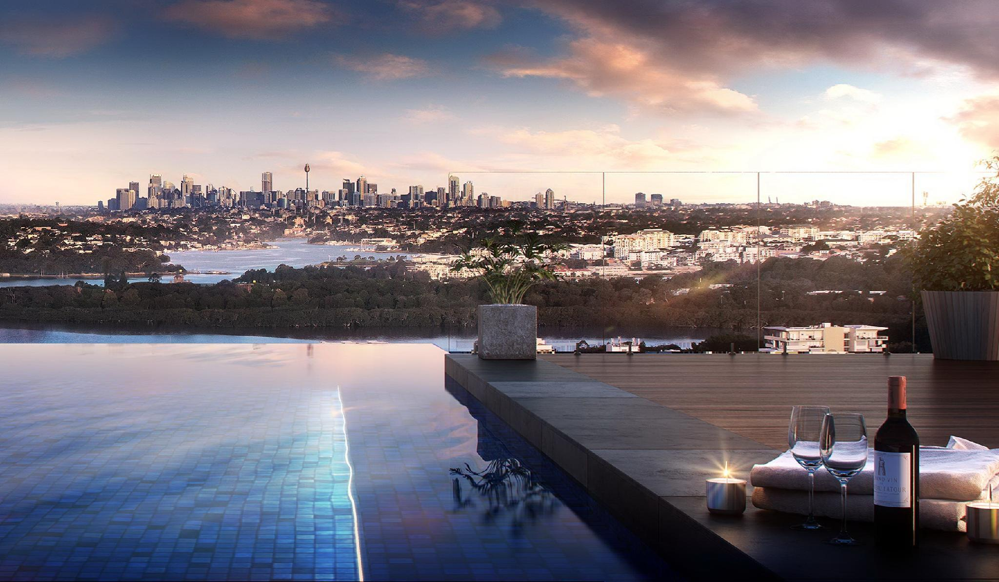 Wentworth Point Comfy Flatel With View Apartment