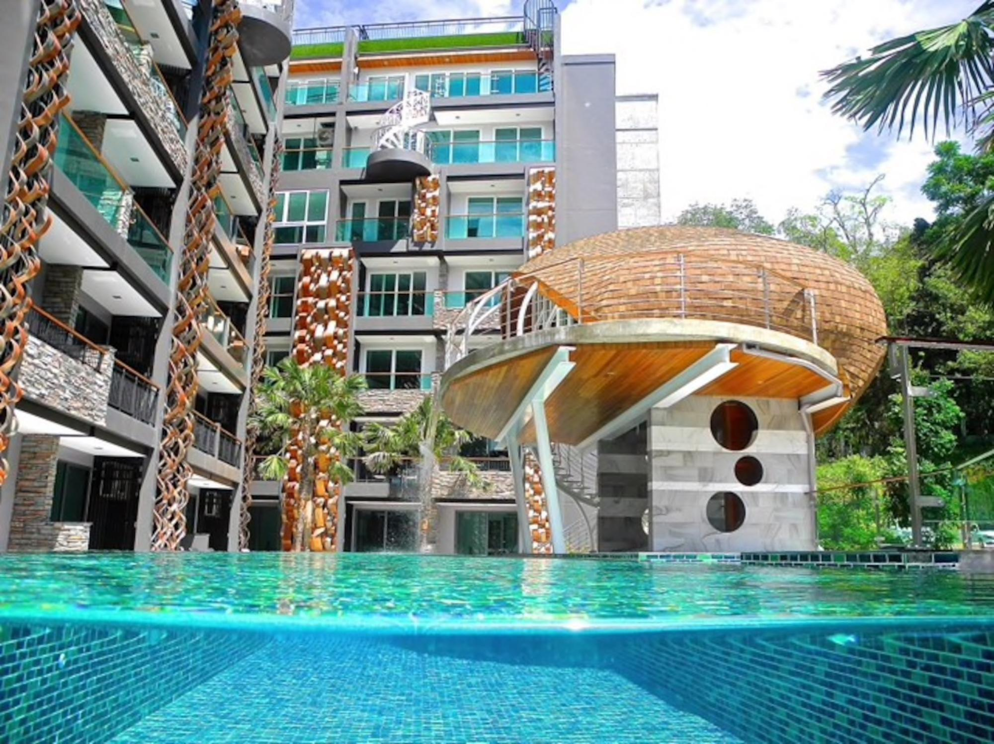 New City View Apartment In Patong