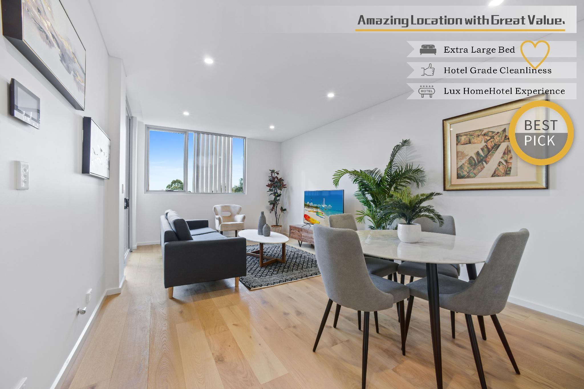 HomeHotel Luxury And New 2 Bedroom Apartment