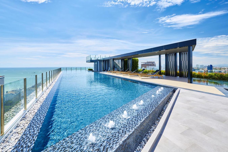 The base Pattaya 2 bedrooms classic sea view อพาร์ตเมนต์ 2 ห้องนอน 1 ห้องน้ำส่วนตัว ขนาด 60 ตร.ม. – พัทยากลาง