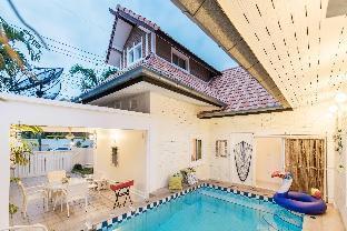 [プラタムナックヒル]ヴィラ(155m2)| 3ベッドルーム/2バスルーム AnB poolvilla sea 3BR close Jomtian Beach/Downtown