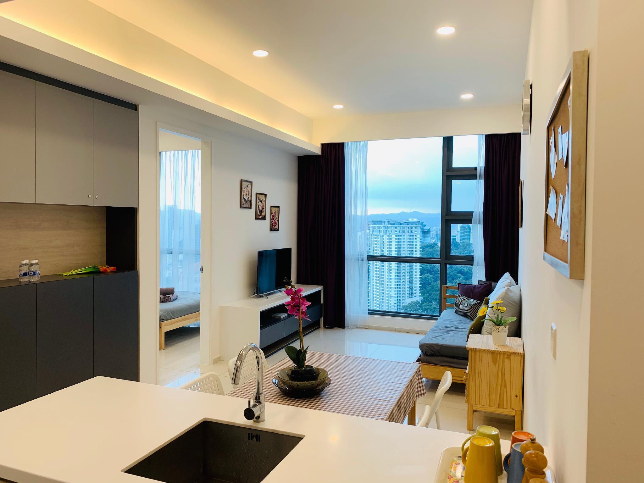 Stunning KL Tower View Room 500m MRT Bukit Bintang