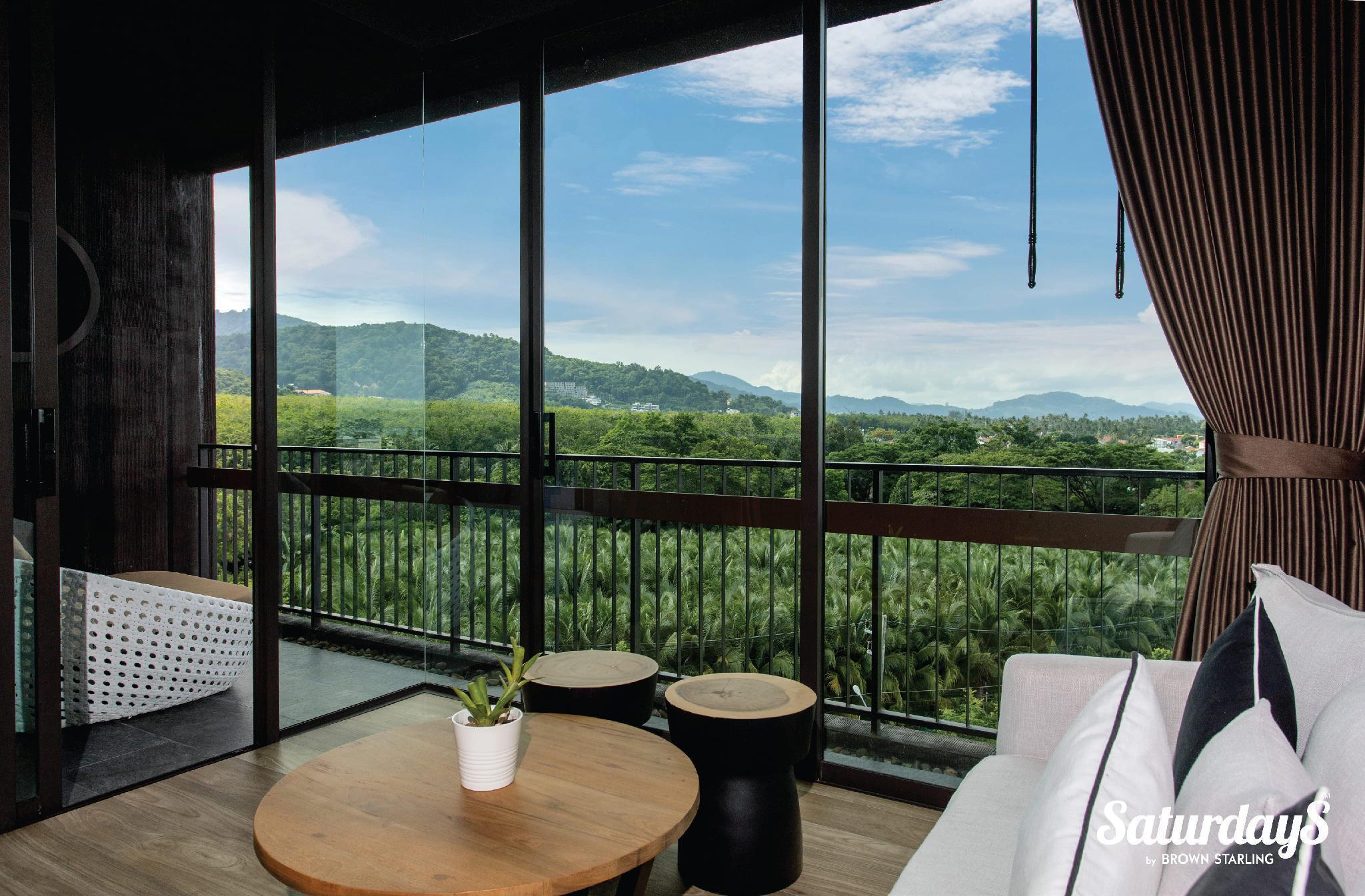 SW2- Saturdays Residence 2 BR Suit with balcony สตูดิโอ อพาร์ตเมนต์ 2 ห้องน้ำส่วนตัว ขนาด 86 ตร.ม. – หาดราไวย์