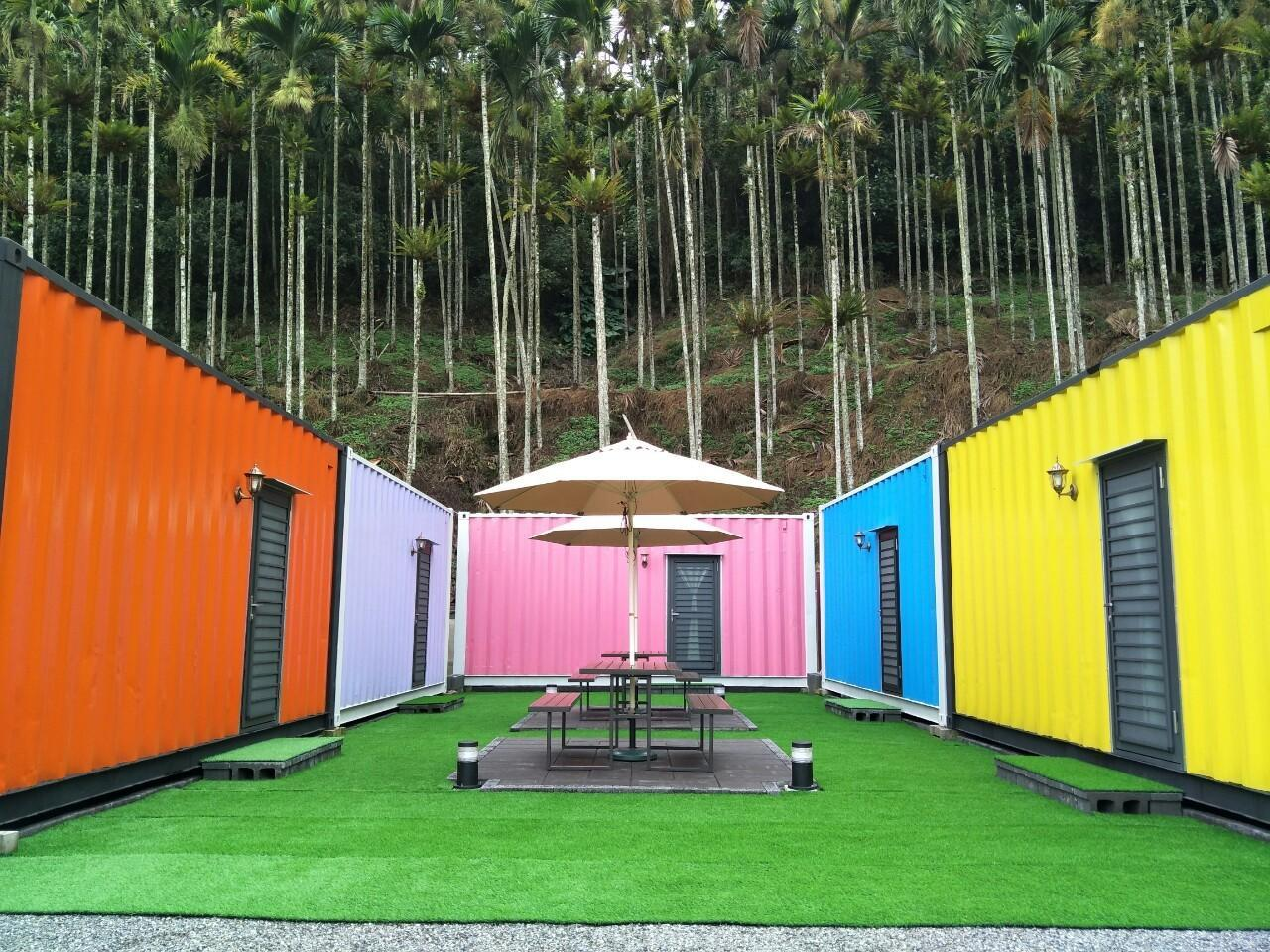 Colorful Container House