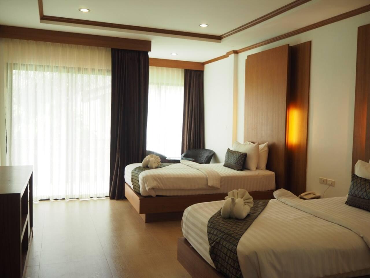 Secluded Modern room Double or Twin beds สตูดิโอ วิลลา 1 ห้องน้ำส่วนตัว ขนาด 45 ตร.ม. – อ่าวโละดาลัม