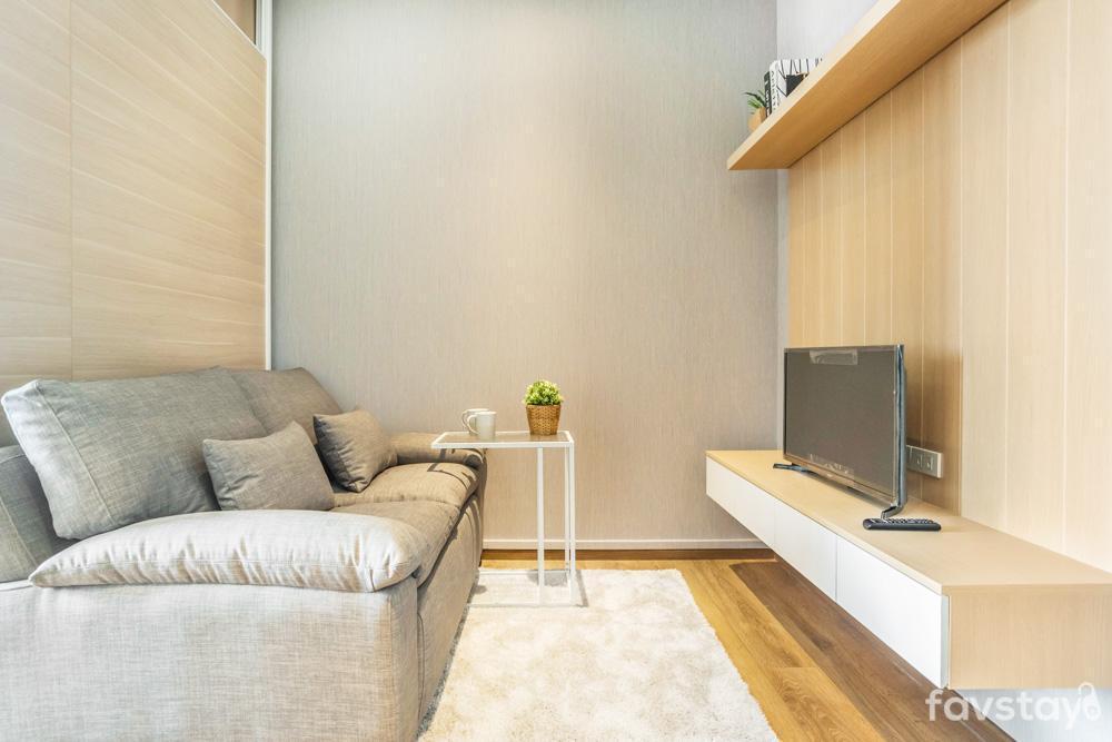 Scandinavian Comfy Room near BTS Phrom Phong อพาร์ตเมนต์ 1 ห้องนอน 1 ห้องน้ำส่วนตัว ขนาด 32 ตร.ม. – สุขุมวิท