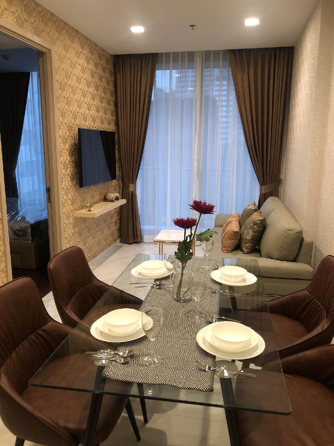 Luxury big room 4-6 pax@ Nana* MBK * Central world อพาร์ตเมนต์ 2 ห้องนอน 2 ห้องน้ำส่วนตัว ขนาด 60 ตร.ม. – สุขุมวิท