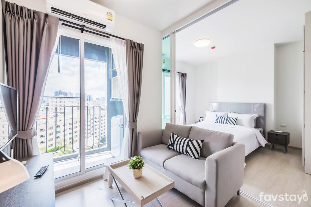 1 Bedroom Eco Living Condo in Ratchada อพาร์ตเมนต์ 1 ห้องนอน 1 ห้องน้ำส่วนตัว ขนาด 32 ตร.ม. – รัชดาภิเษก