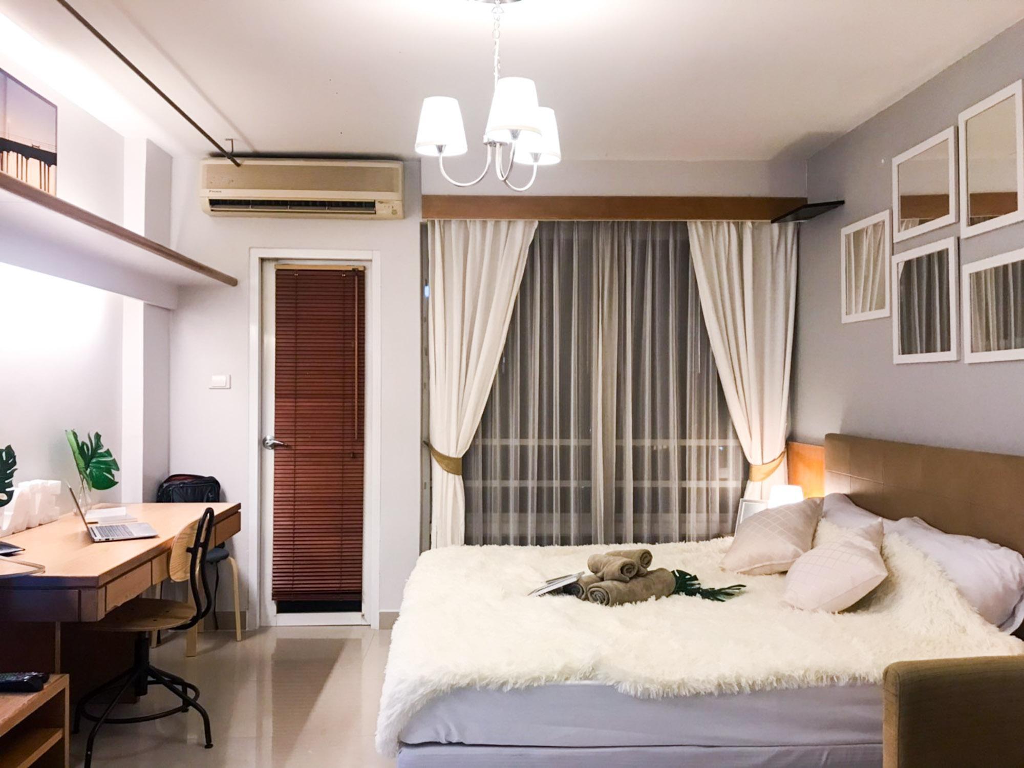 Cozy room[B], Super Convenient - Few Steps to RCA! สตูดิโอ อพาร์ตเมนต์ 1 ห้องน้ำส่วนตัว ขนาด 26 ตร.ม. – รัชดาภิเษก