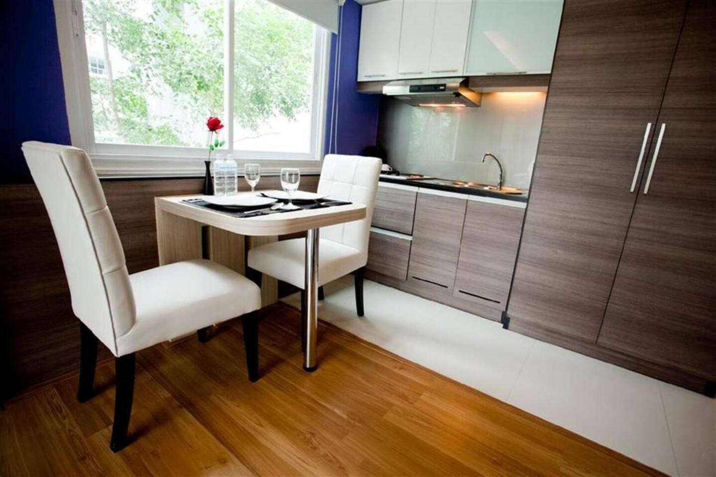 Studio Apartment Near Asoke BTS Skytrain