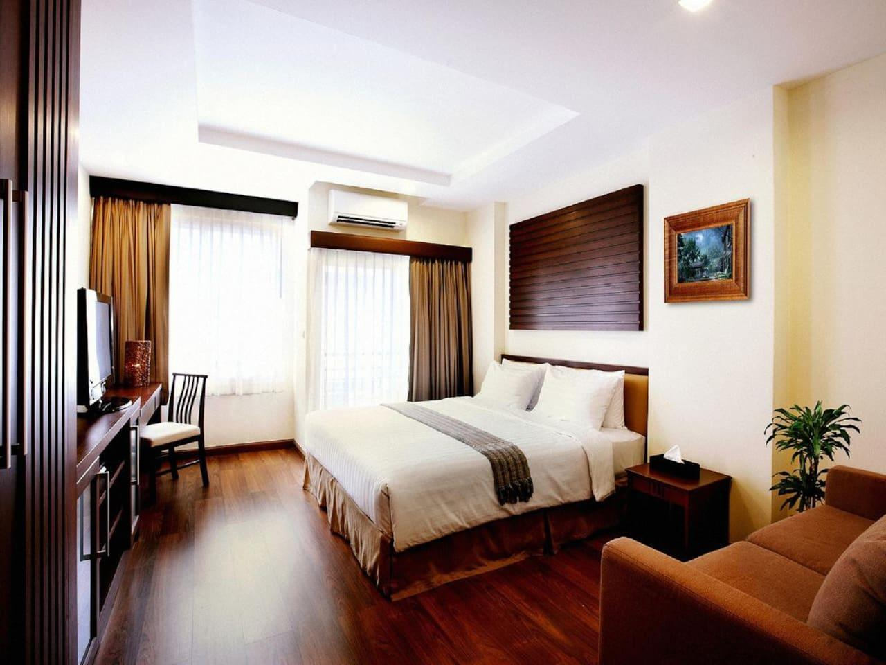 Deluxe Room 5 Minute To Ploenchit BTS Station