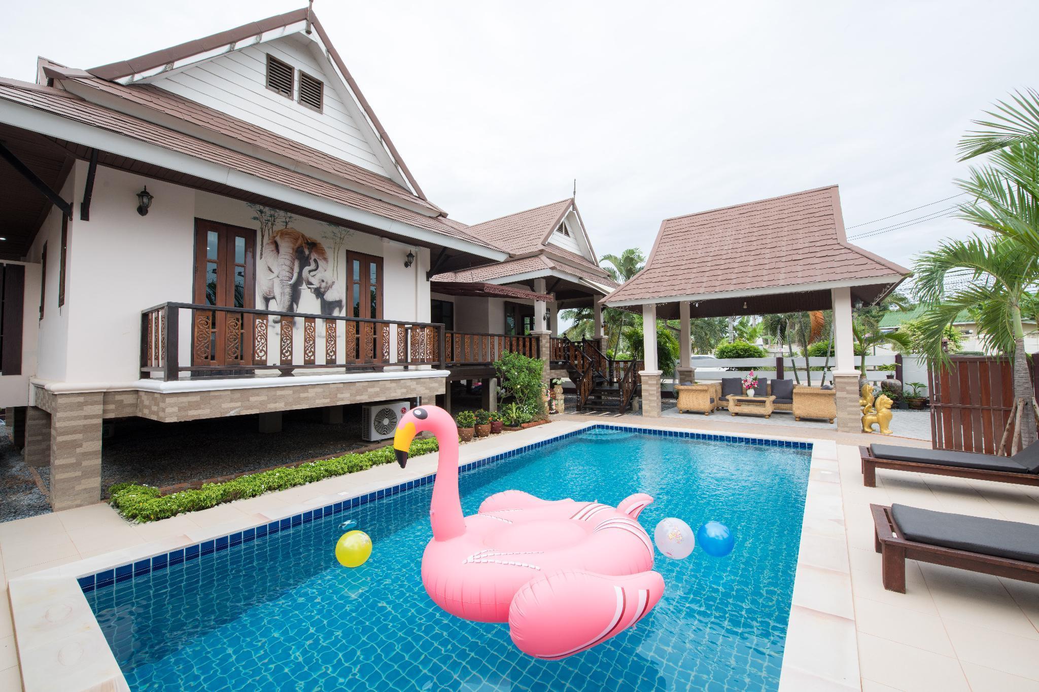 Jasmine Villa and pool pattaya บ้านเดี่ยว 3 ห้องนอน 3 ห้องน้ำส่วนตัว ขนาด 420 ตร.ม. – เขาตาโล