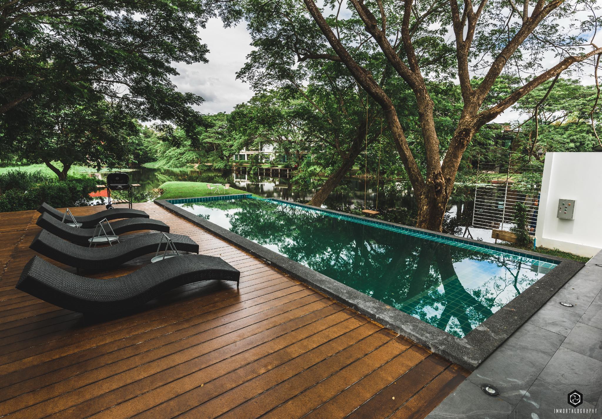 In the mood Luxury Private Poolvilla วิลลา 5 ห้องนอน 5 ห้องน้ำส่วนตัว ขนาด 400 ตร.ม. – หางดง
