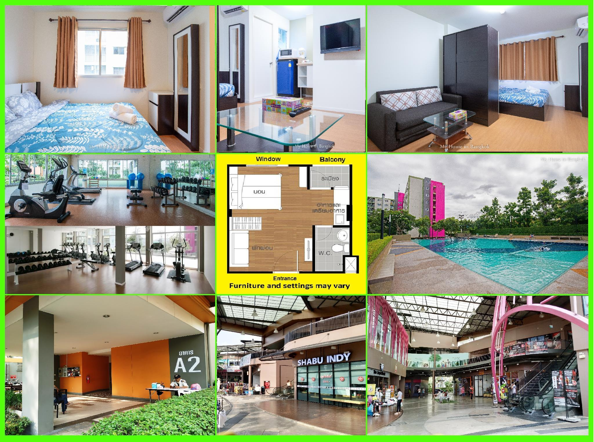 Family Apartment My Home In Bangkok C3 306