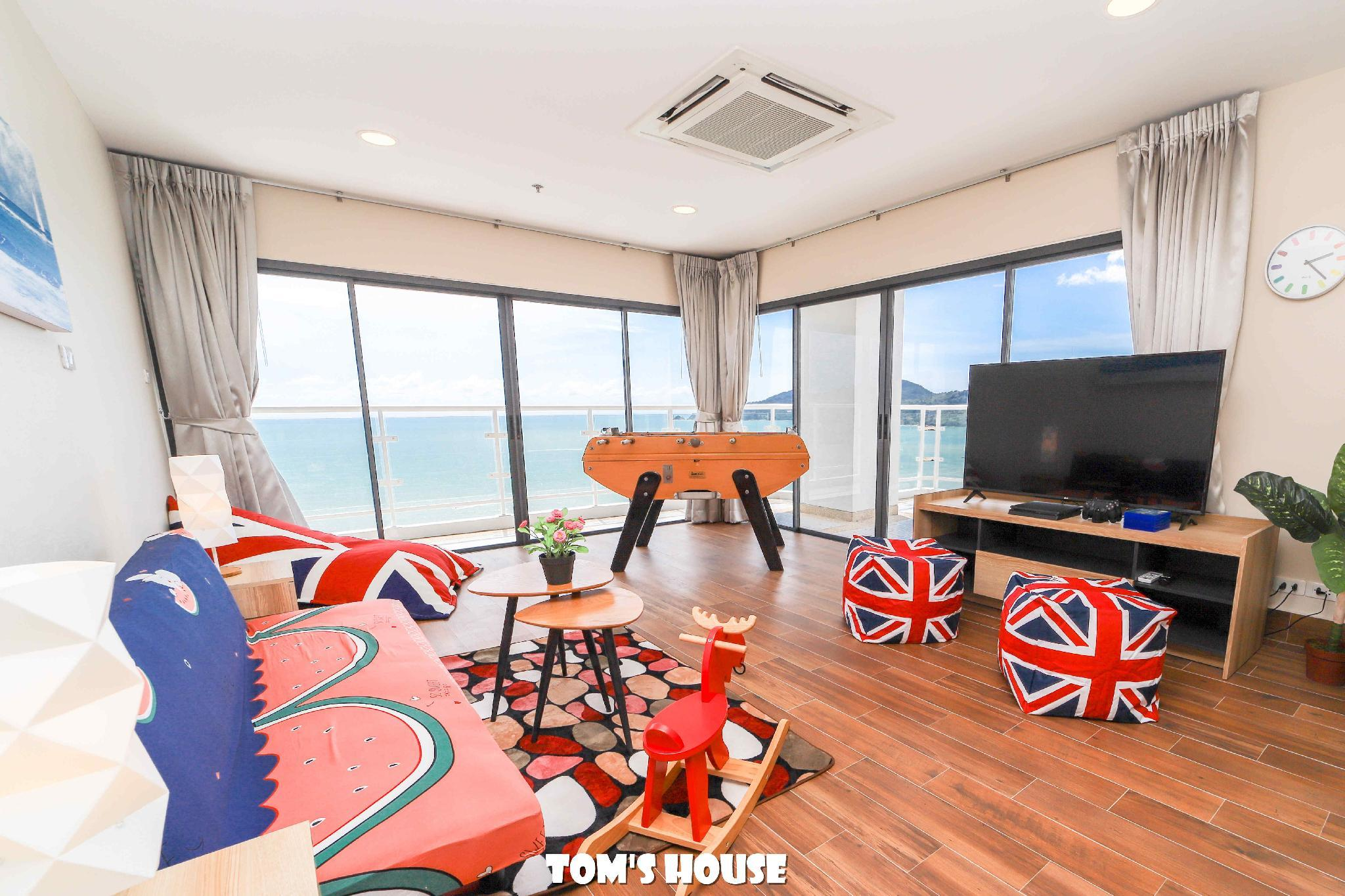 Full Sea View  100m To The Beach  Patong Tower S4a