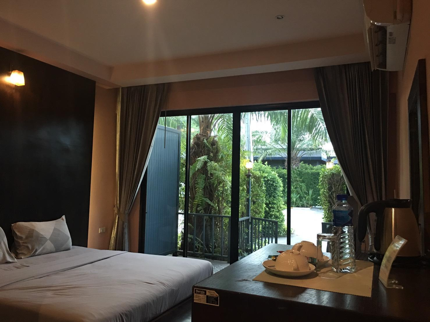 Petchpanee Resort บังกะโล 1 ห้องนอน 1 ห้องน้ำส่วนตัว ขนาด 30 ตร.ม. – นาจอมเทียน
