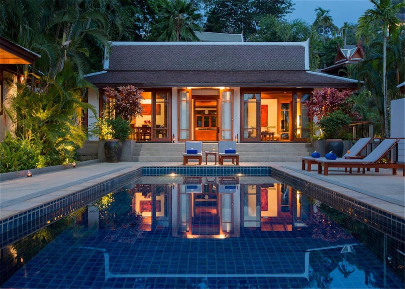 Surin Beach Luxury Sea View 4+1 Bedroom Pool Villa
