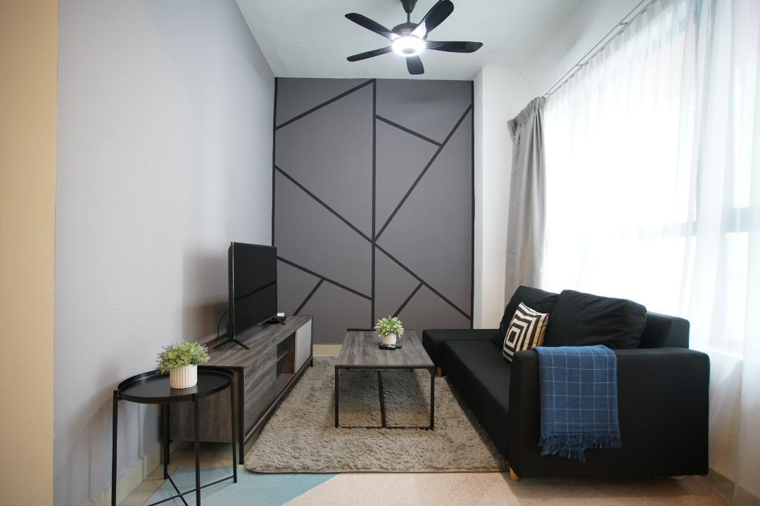 10Min   KLCClMODERN Family Home With Washer  AT212
