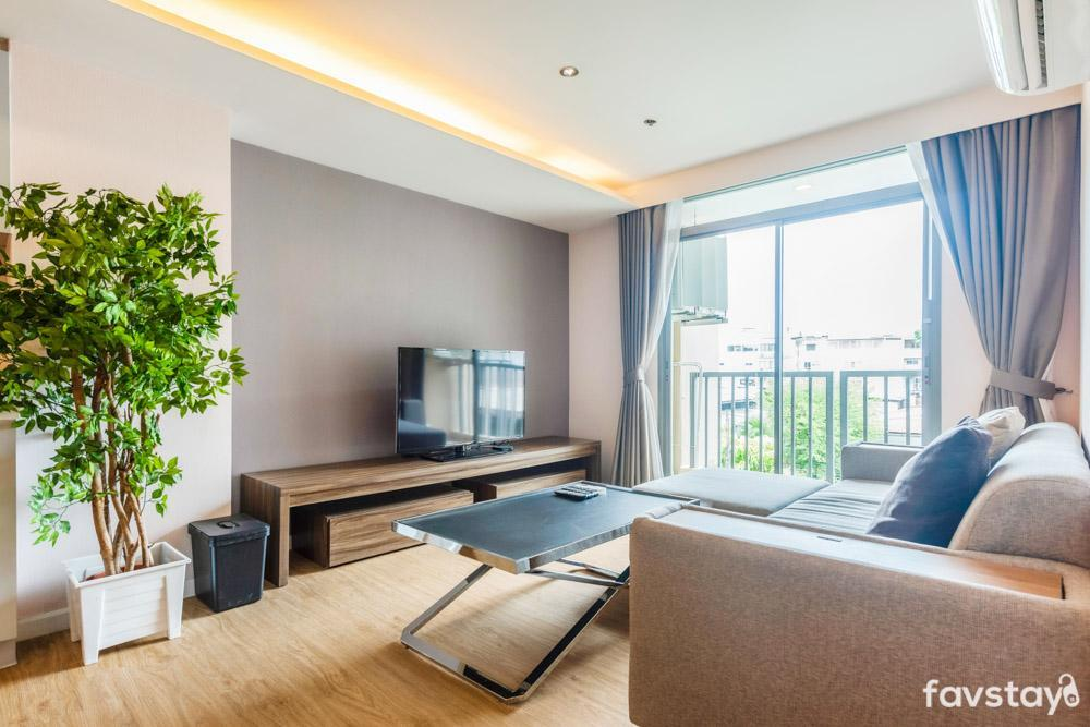Enjoy Cozy And Privacy Near Sathorn With 2 BR