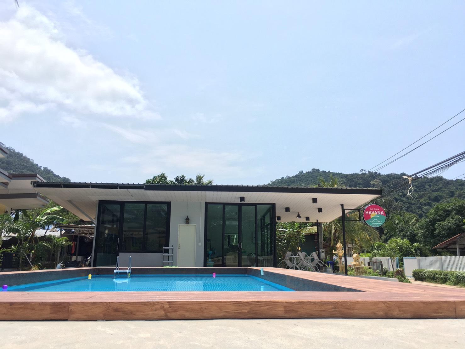 Koh Chang Havana Pool Villa บังกะโล 1 ห้องนอน 1 ห้องน้ำส่วนตัว ขนาด 28 ตร.ม. – คลองสน