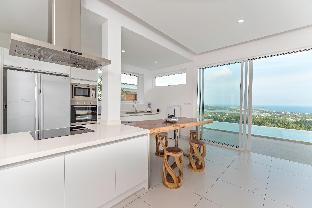 [チャウエン]ヴィラ(315m2)| 5ベッドルーム/5バスルーム New Villa Melissa Infinity Pool Panoramic Sea View
