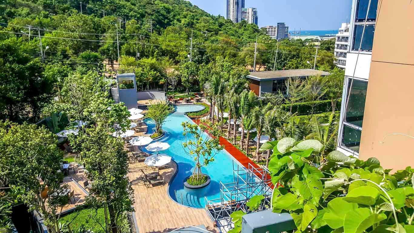Unixx Condo Pattaya 40m2 A08 อพาร์ตเมนต์ 1 ห้องนอน 1 ห้องน้ำส่วนตัว ขนาด 40 ตร.ม. – พัทยาใต้